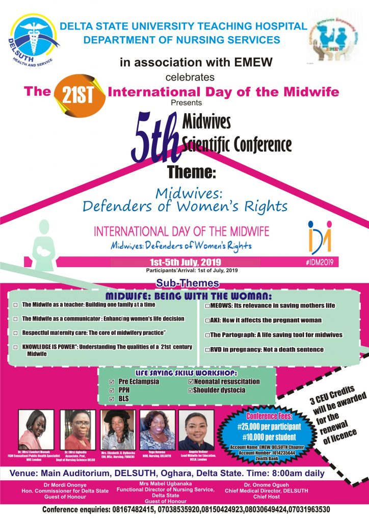 International Day of the Midwife Flier