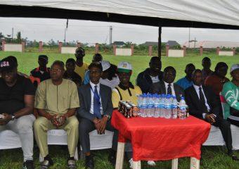 DELSUTH football team inauguration