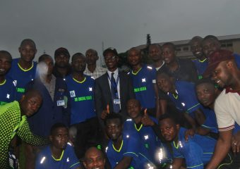 DELSUTH Football team and CMD